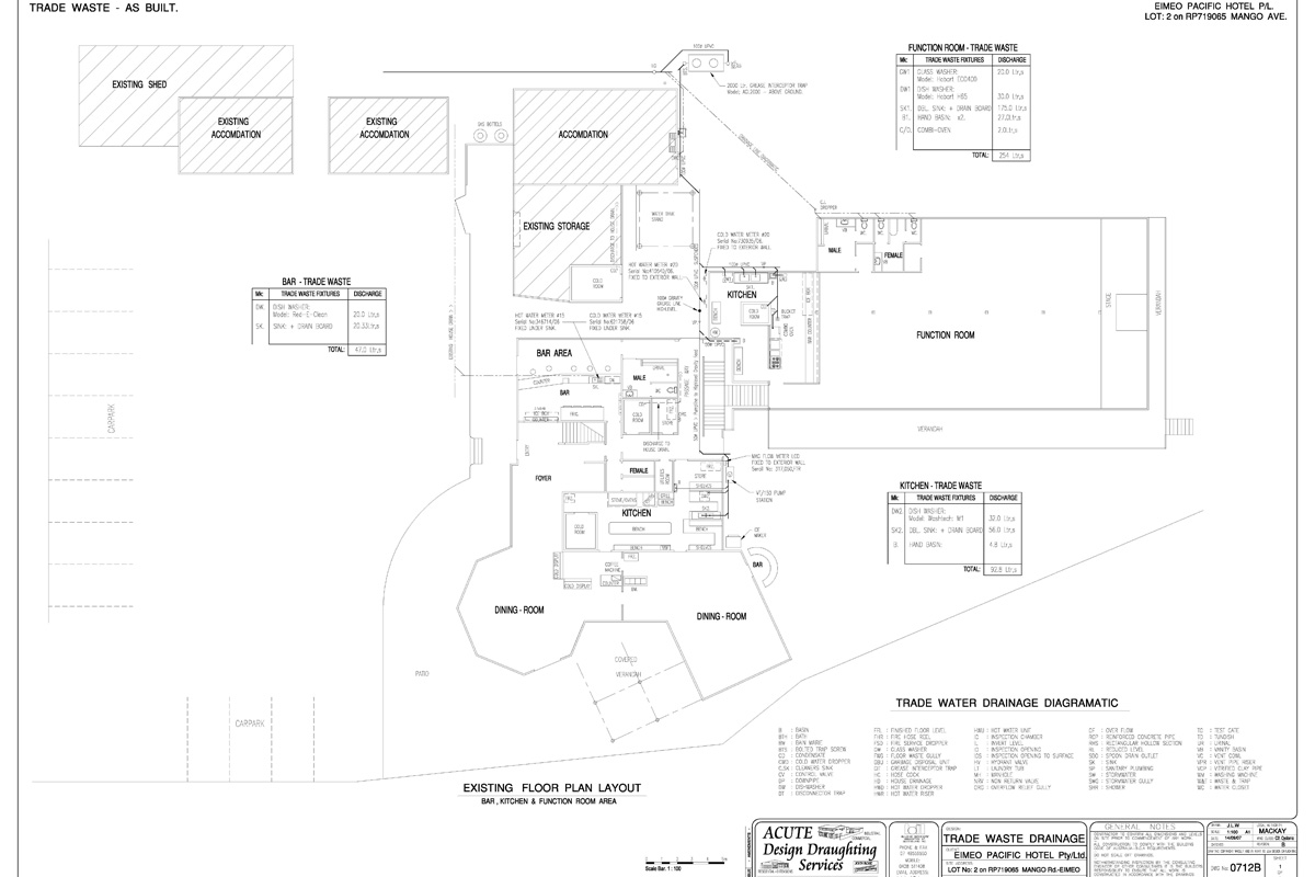 Eimeo Pacific Hotel Floor Plan